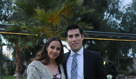 Bárbara Mejía y Alberto Kasis.