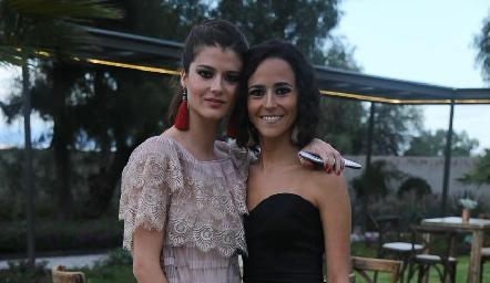 Daniela y Paola Meade.