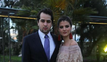 Manuel Carreras y Daniela Meade.