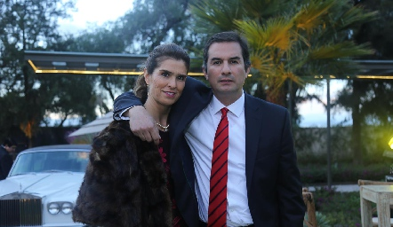 Laura Ayala y José Luis Andrés.