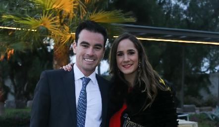 Alejandro Mancilla y Daniela Mina.