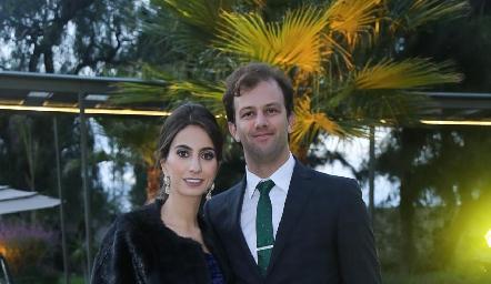 Lorena Andrés y Alejandro Abud.