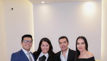 Los médicos de la Clínica AMARA.