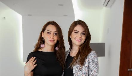 Natalia Narváez y Geraldine Machado.