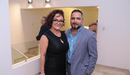 Lucy Mosqueda y Paco Quevedo.