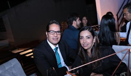 Luis Fernando González y Lucía Valdez.