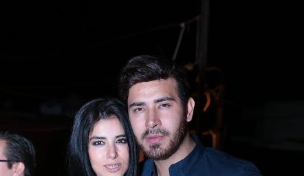 Sandra Herrera y Marco Macías.
