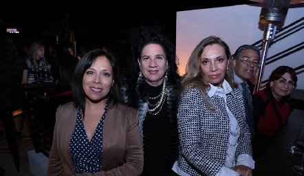 Leticia García, Clara Hernández e Hilda Guerra.