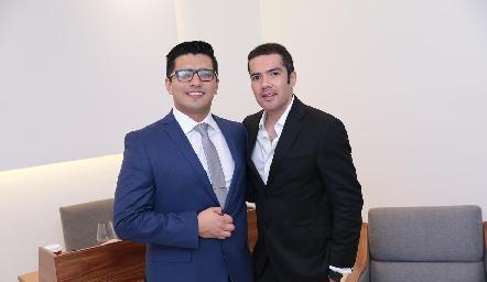 Julio Donjuan y Felipe Peña.
