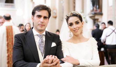 Rafael Herrera y Mariana Labarthe.