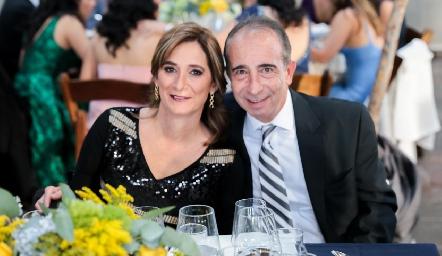 Mónica Leal y José Medlich.