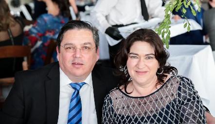 Juan Carlos Cuan y Sofía Palau.
