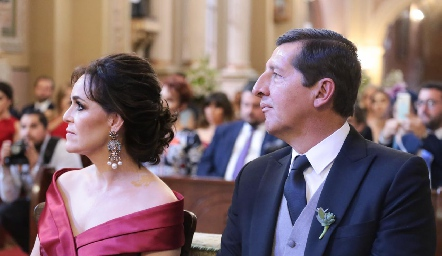 Gladys Rangel y Alfonso Labarthe.