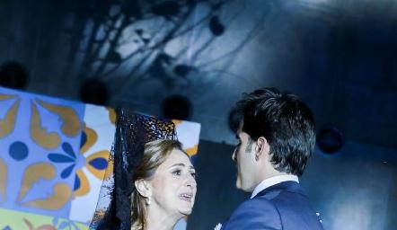 Rafael Herrera con su mamá Isabel Sánchez.