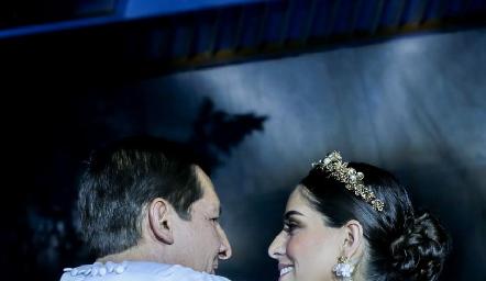 Mariana y Poncho Labarthe.