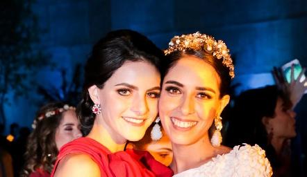 Ana Cecy y Mariana Labarthe.
