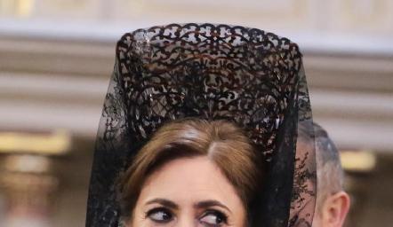 La mamá del novio, Isabel Sánchez.