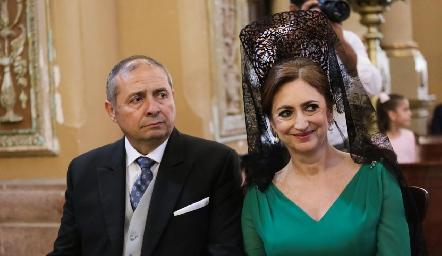 Rafael Herrera e Isabel Sánchez de Herrera.