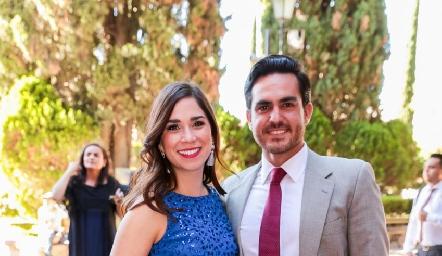 Sofía Balbontín y Mauricio Contreras.
