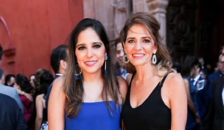 Andrea Ascanio y Rosy Rodríguez.