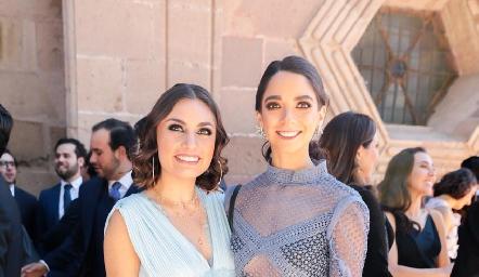 Ana Sofía Rodríguez y Sofía Álvarez.