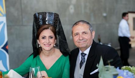 Isabel Sánchez de Herrera y Rafael Herrera.