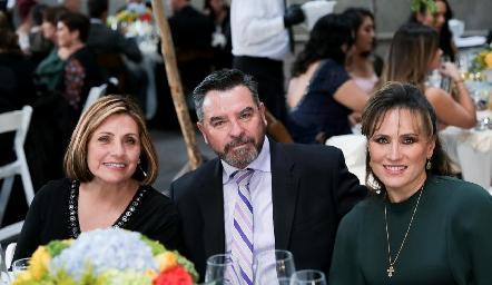 Teresa Lastras, Luis Gerardo Ortuño y Ana Lilia Von Der Meden.