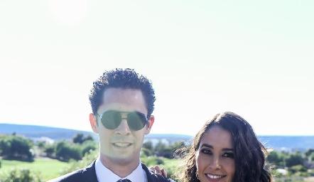 Rafael Silva y Sofía Leiva.