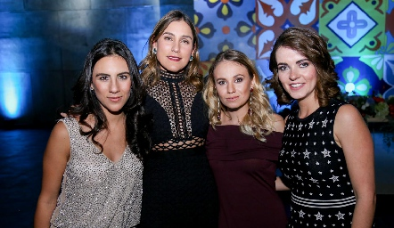 Irasema Abud, Sofía Villaseñor, Pau López y Anna Lorca.
