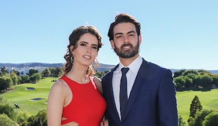 Paulina Nieto y Roberto Abud.
