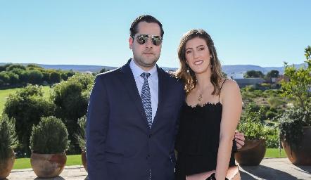 Andrés Mina y Clarisa Abella.