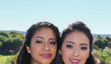 Ana Isa y Ana Sofía Martínez.