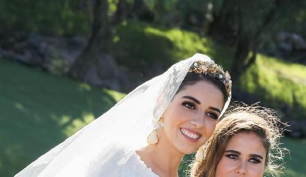Mariana Labarthe y Nuria Alcalde.