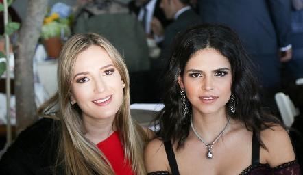 Gaby Del Valle y Ana Paula de la Fuente.