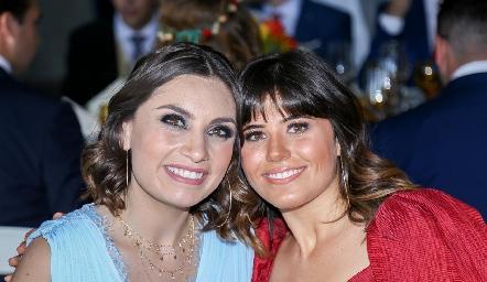 Sofía Rodríguez y Mariela Motilla.