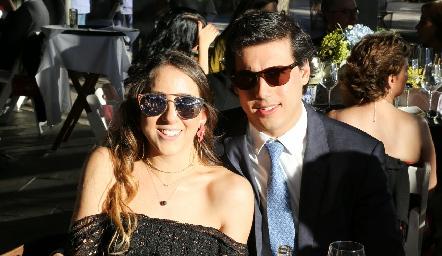 Diana Olvera y Gabriel Torres.