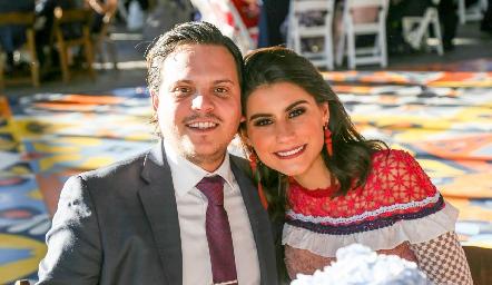 Jorge Naya y Tere Cadena.