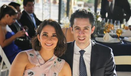 Sofía Leiva y Rafael Silva.