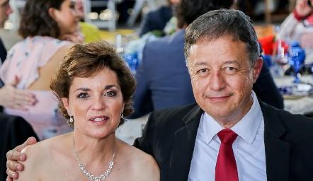 Lorena Maza y Rafael Córdova.