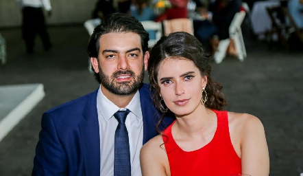 Roberto Abud y Paulina Nieto.