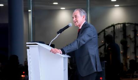 El Gobernador del Estado Juan Manuel Carreras López.