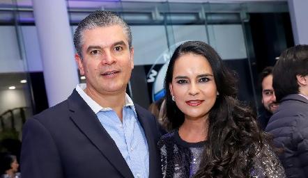 Javier y Marily Tobías.
