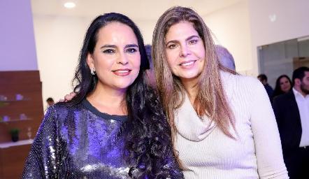 Marily Espinosa y Martha Díez Gutiérrez.