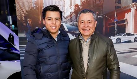 Lisandro y Lisandro Bravo.