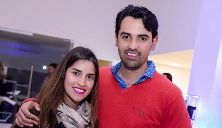 Andrea Alvarado y Daniel Cerda.