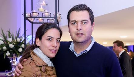 María José Torres y Javier Abella.