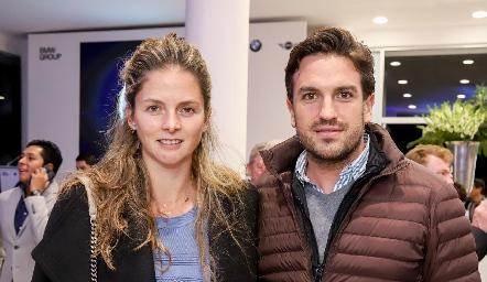 María José López y Juan Pablo Torre.