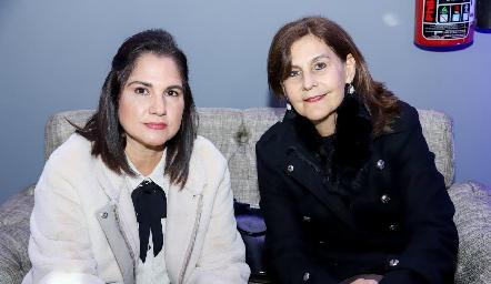 Margarita de Cabrera y Luchi de Castelo.