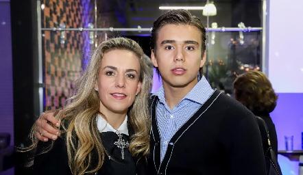 Mónica Torres y Oscar Ruiz.