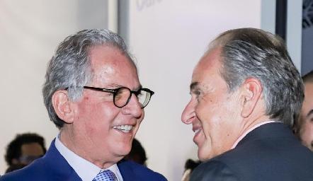 Miguel Torres Corzo y Juan Manuel Carreras.